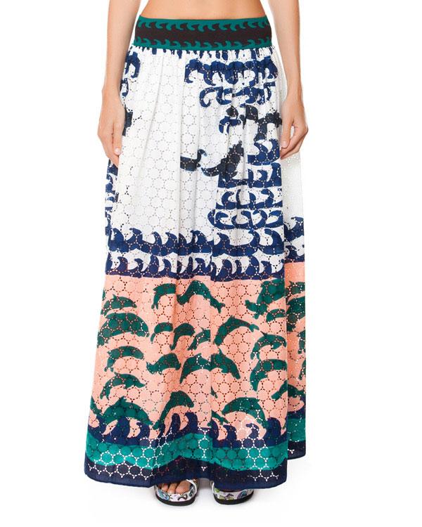 женская юбка Tsumori Chisato, сезон: лето 2015. Купить за 30100 руб. | Фото 1
