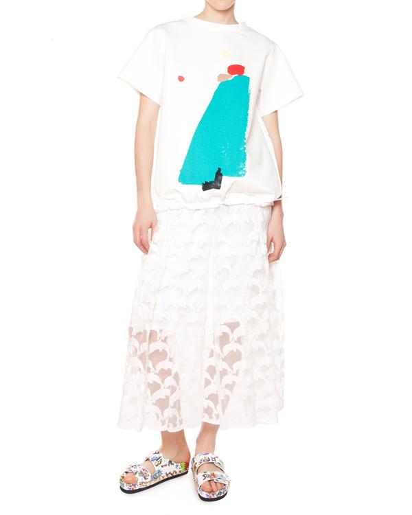 женская юбка Tsumori Chisato, сезон: лето 2015. Купить за 26100 руб. | Фото $i