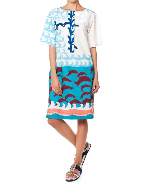 женская платье Tsumori Chisato, сезон: лето 2015. Купить за 27200 руб. | Фото $i