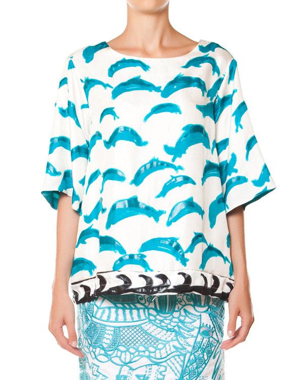 женская блуза Tsumori Chisato, сезон: лето 2015. Купить за 23200 руб. | Фото 1