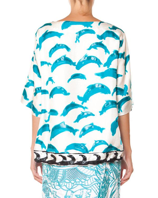 женская блуза Tsumori Chisato, сезон: лето 2015. Купить за 23200 руб. | Фото 2
