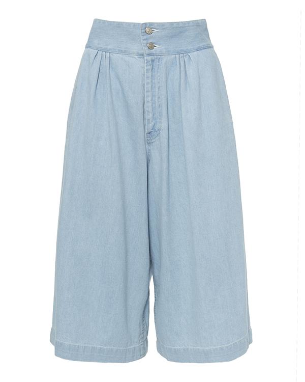 брюки широкие, укороченного кроя из денима артикул TC67FF074 марки Tsumori Chisato купить за 19300 руб.