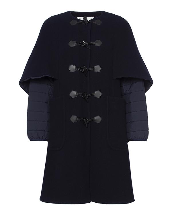 пальто из плотной шерсти, дополнено стегаными рукавами артикул TC69FA007 марки Tsumori Chisato купить за 60000 руб.