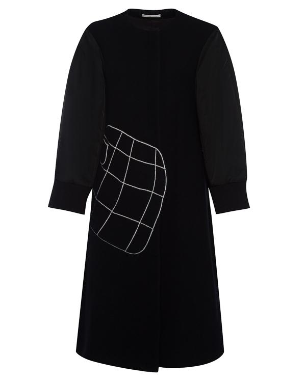 пальто А-образного силуэта из шерсти артикул TC79FA088 марки Tsumori Chisato купить за 126700 руб.