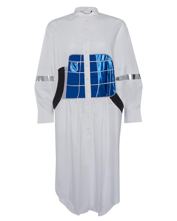 платье миди из хлопка в футуристическом стиле артикул TC79FH030 марки Tsumori Chisato купить за 49600 руб.