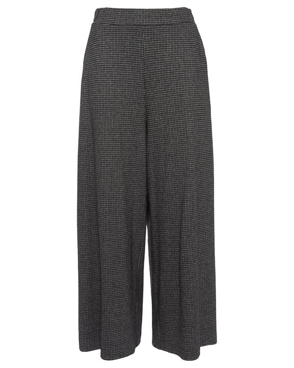 брюки широкого силуэта с узором-гусиная лапка артикул TC79JF047 марки Tsumori Chisato купить за 40300 руб.