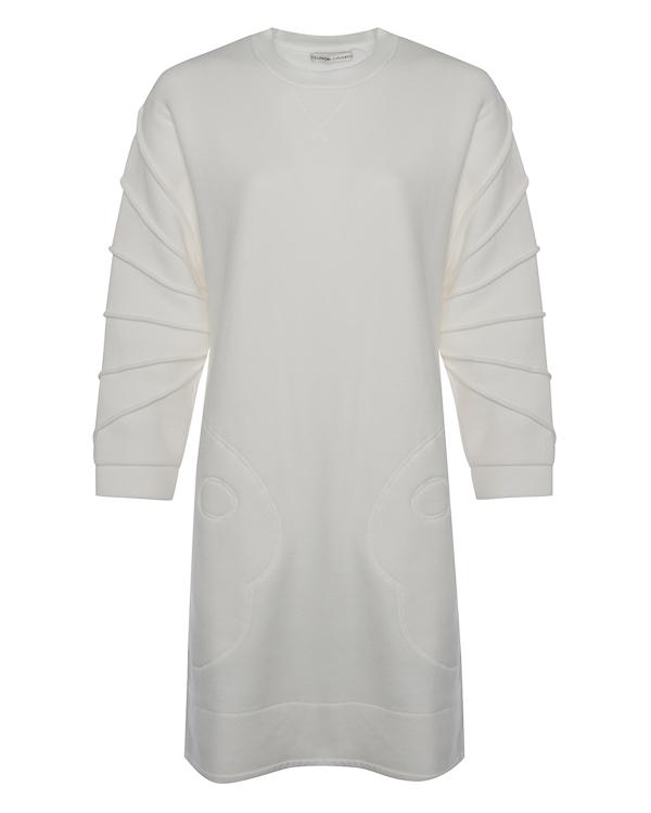 платье А-образного силуэта из меланжевого трикотажа артикул TC79JH020 марки Tsumori Chisato купить за 30000 руб.