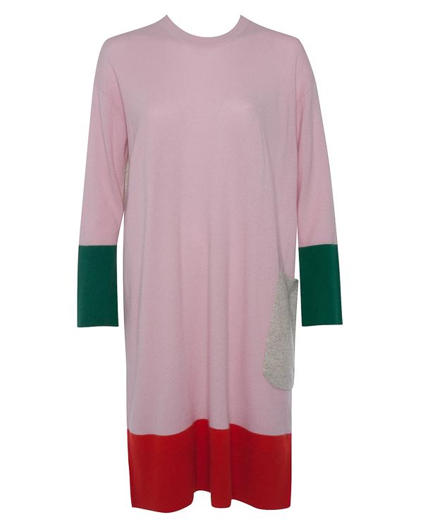 платье из мягкого кашемира в стиле колор-блок артикул TC79KH015 марки Tsumori Chisato купить за 66900 руб.