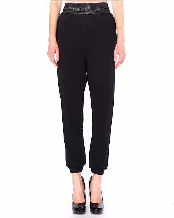 брюки с широким поясом-резинкой и манжетами на лодыжках артикул TILLIS марки Damir Doma купить за 21100 руб.