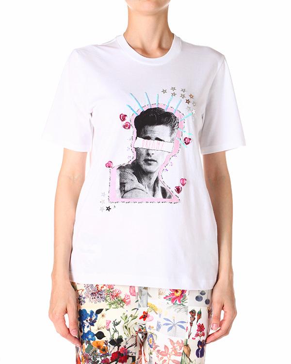 женская футболка Markus Lupfer, сезон: лето 2014. Купить за 4700 руб. | Фото 1