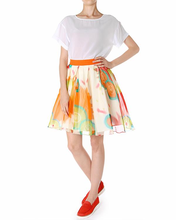 женская юбка EGGS, сезон: лето 2014. Купить за 11400 руб. | Фото 3
