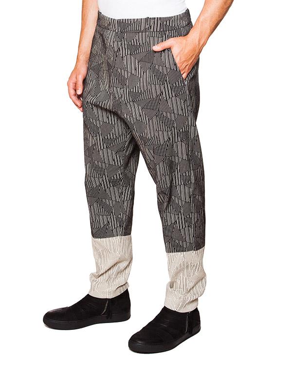 брюки галифе из плотного хлопка с геометрическим рисунком артикул TU0110-2450 марки TOM REBL купить за 27200 руб.