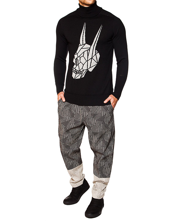 мужская брюки TOM REBL, сезон: зима 2015/16. Купить за 27200 руб. | Фото 3