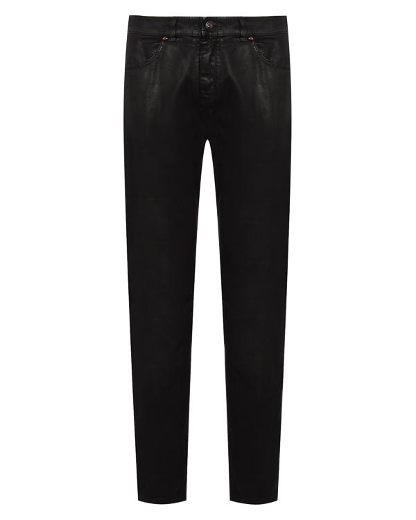джинсы Slim из плотного денима с покрытием артикул TU0131-2537T7R марки TOM REBL купить за 28700 руб.