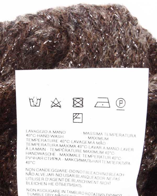 аксессуары шапка ARMANI JEANS, сезон: зима 2013/14. Купить за 2300 руб. | Фото 5