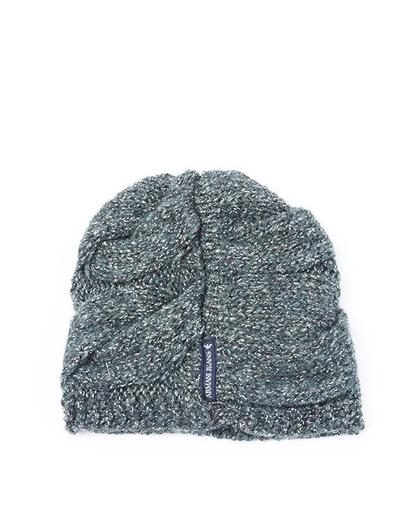 аксессуары шапка ARMANI JEANS, сезон: зима 2013/14. Купить за 2300 руб. | Фото 2