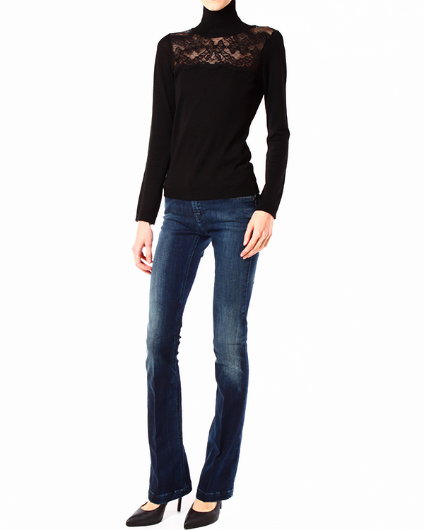 женская джинсы ARMANI JEANS, сезон: зима 2013/14. Купить за 4500 руб.   Фото 3