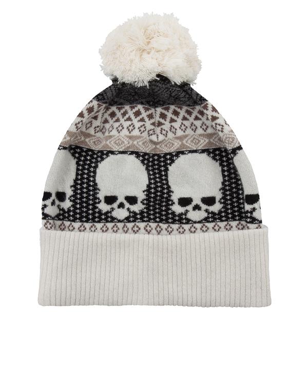 шапка из шерсти с пампоном артикул UCJQ08CAPOM марки Gemma H купить за 6100 руб.