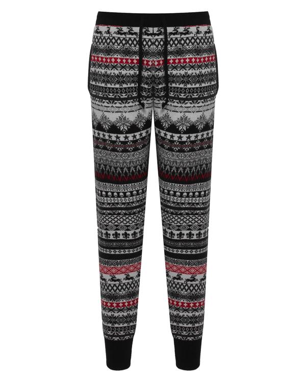 брюки спортивного кроя из шерсти  артикул UCJQ15PANCB марки Gemma H купить за 18800 руб.