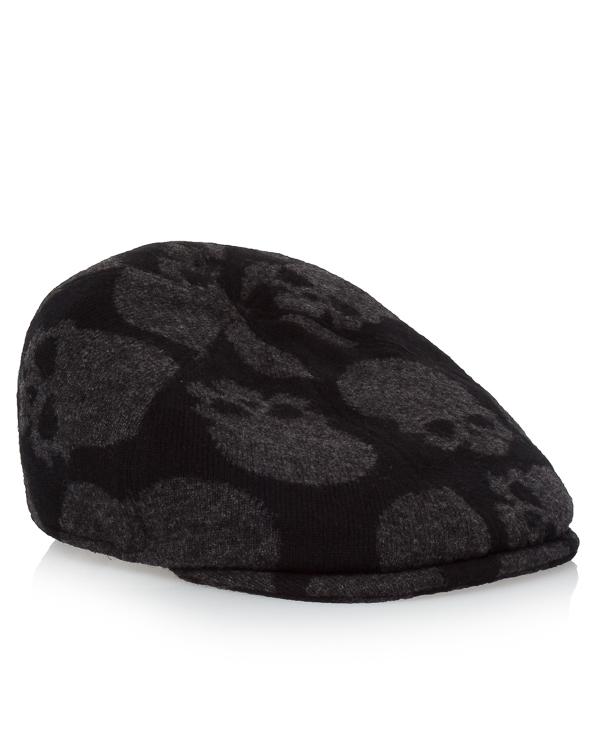 кепка из шерсти с принтом-черепа артикул UCJQ3GCAPP марки Gemma H купить за 9100 руб.
