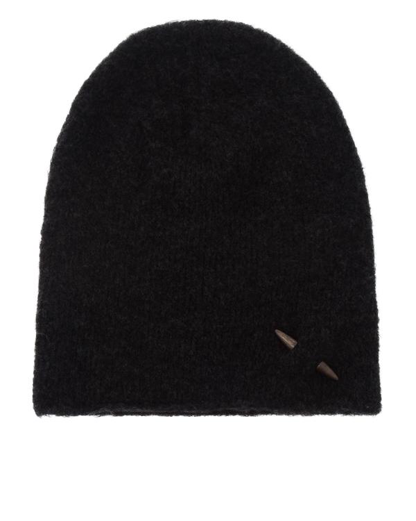 шапка из шерсти с декором-пулей артикул UK37CO марки Isabel Benenato купить за 6700 руб.