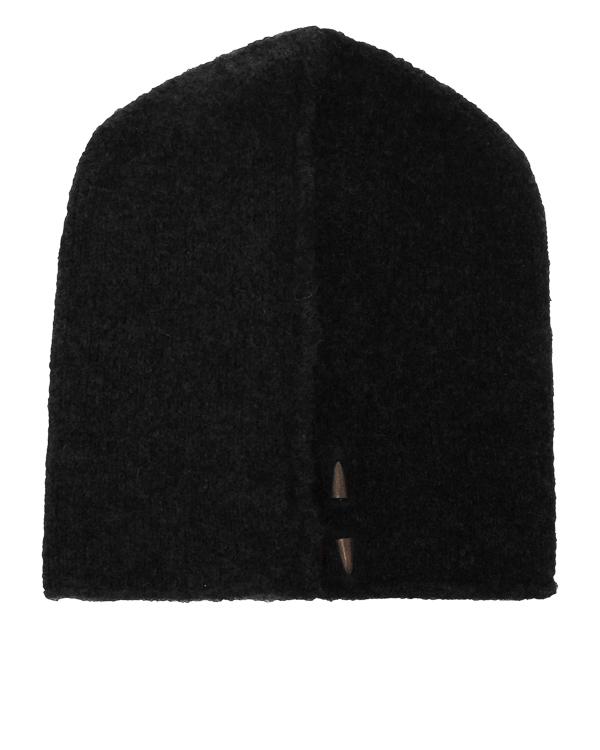 шапка из шерсти с декором-пулей артикул UK37F17 марки Isabel Benenato купить за 7200 руб.