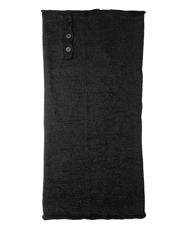 шарф снуд из мягкой полушерстяной пряжи артикул UK46F16 марки Isabel Benenato купить за 8700 руб.