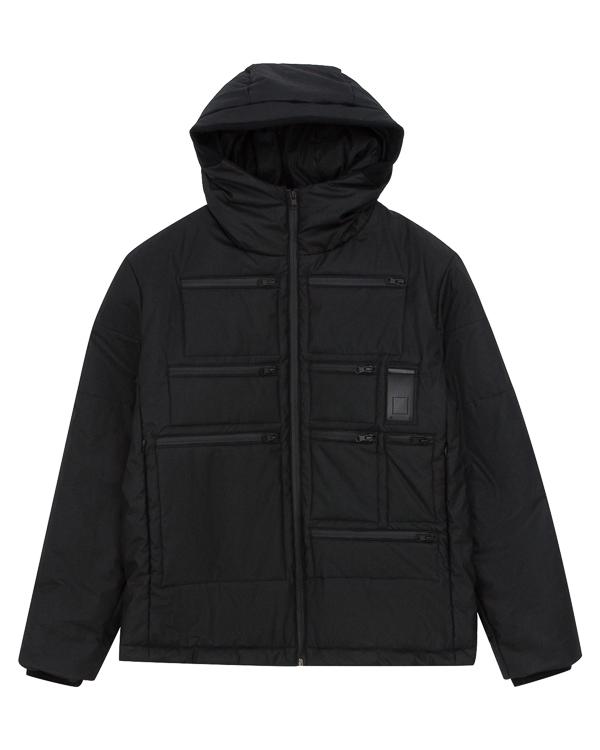 куртка из хлопка с многофункциональными карманами артикул UTLDWN01 марки Letasca купить за 58000 руб.