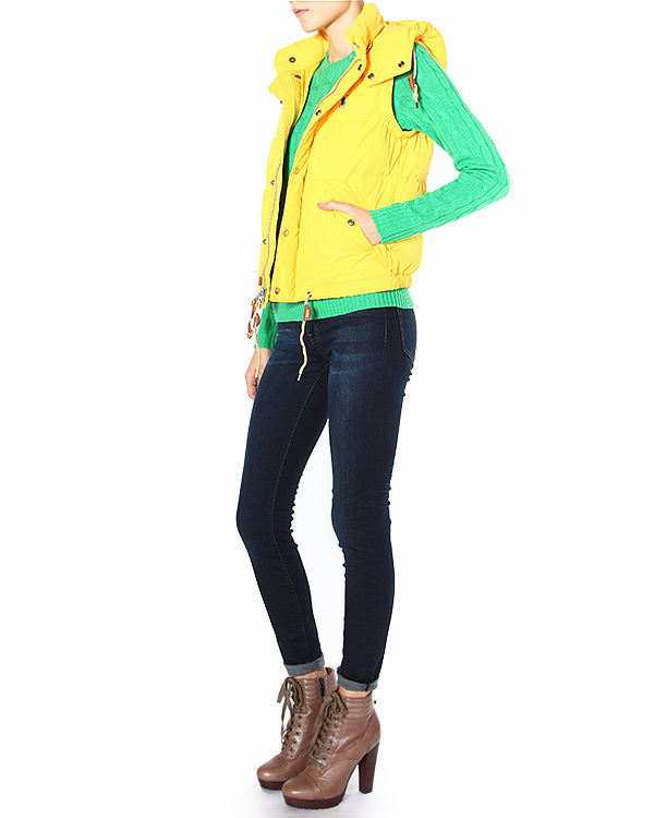 женская жилет Polo by Ralph Lauren, сезон: зима 2014/15. Купить за 13800 руб. | Фото 3