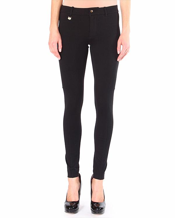 брюки прилегающего силуэта, из плотного эластичного трикотажа артикул V38IOANB марки Polo by Ralph Lauren купить за 9900 руб.
