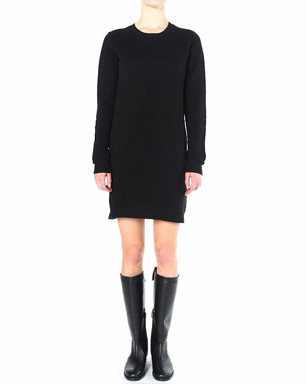 платье прямого силуэта, с замшевыми вставками на локтях артикул V39IORBA марки Polo by Ralph Lauren купить за 8900 руб.