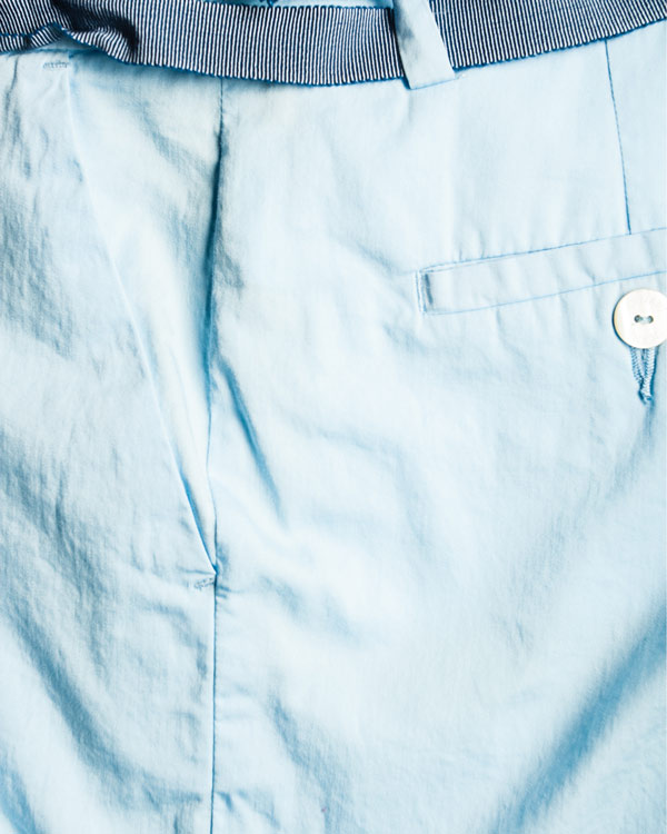 женская брюки ARMANI JEANS, сезон: лето 2014. Купить за 7700 руб. | Фото 4