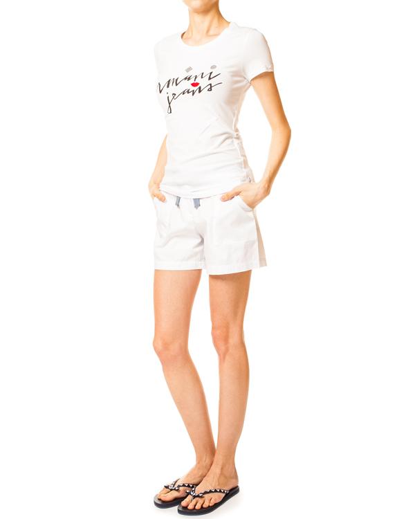 женская шорты ARMANI JEANS, сезон: лето 2014. Купить за 6400 руб. | Фото 3