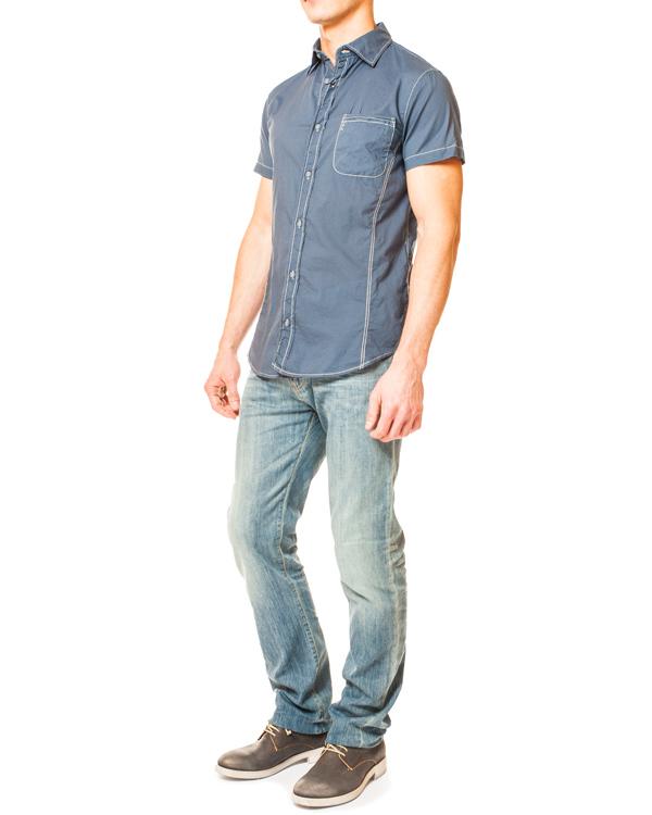 мужская рубашка ARMANI JEANS, сезон: лето 2014. Купить за 4500 руб.   Фото 3