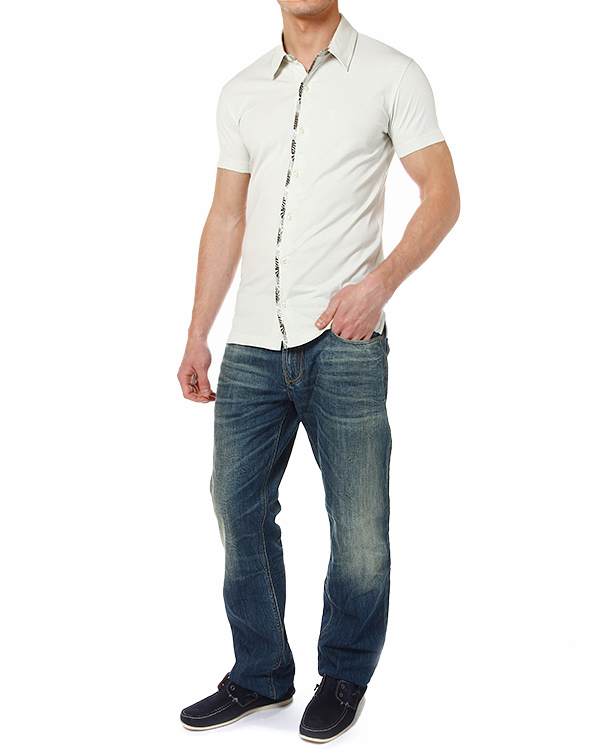 мужская рубашка ARMANI JEANS, сезон: лето 2014. Купить за 4200 руб. | Фото 3