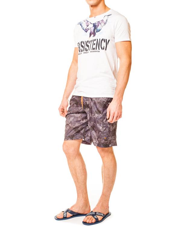 мужская плав.шорты ARMANI JEANS, сезон: лето 2014. Купить за 4800 руб. | Фото 3