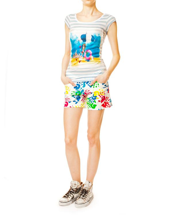 женская шорты Ultra Chic, сезон: лето 2014. Купить за 7300 руб. | Фото $i