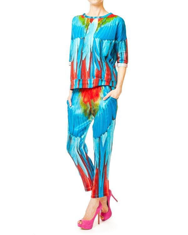 женская брюки Ultra Chic, сезон: лето 2014. Купить за 9600 руб. | Фото 3