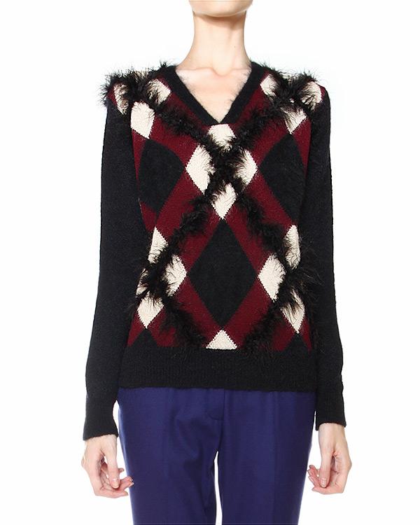 женская пуловер Veronique Branquinho, сезон: зима 2014/15. Купить за 24800 руб.   Фото $i