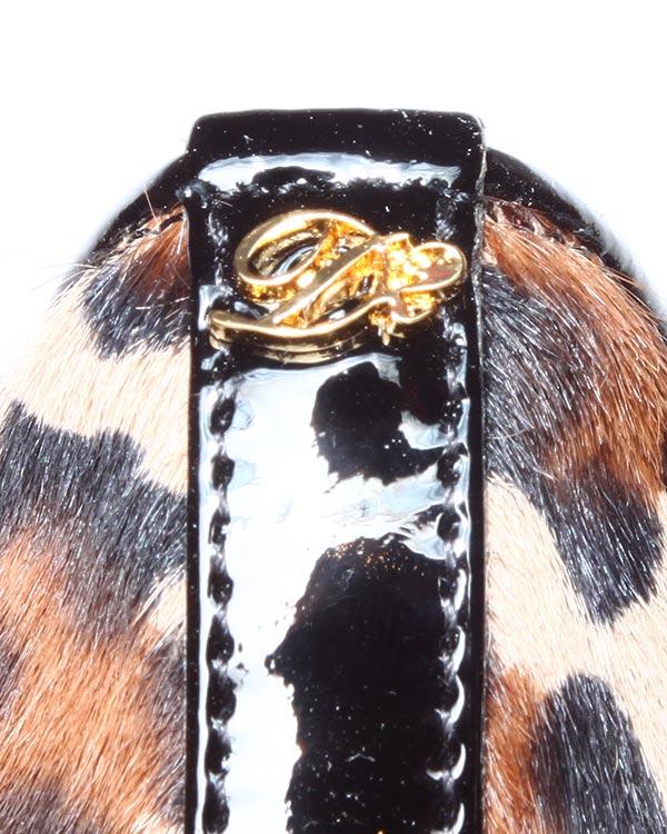 женская слипперы DSQUARED, сезон: зима 2014/15. Купить за 15200 руб. | Фото 4