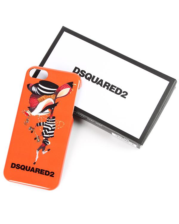 аксессуары чехол для iPhone DSQUARED, сезон: зима 2014/15. Купить за 1700 руб.   Фото $i