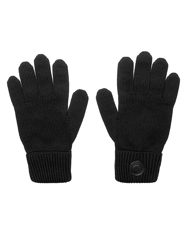 перчатки вязаные с логотипом бренда артикул W16KG4001 марки DSQUARED2 купить за 4900 руб.