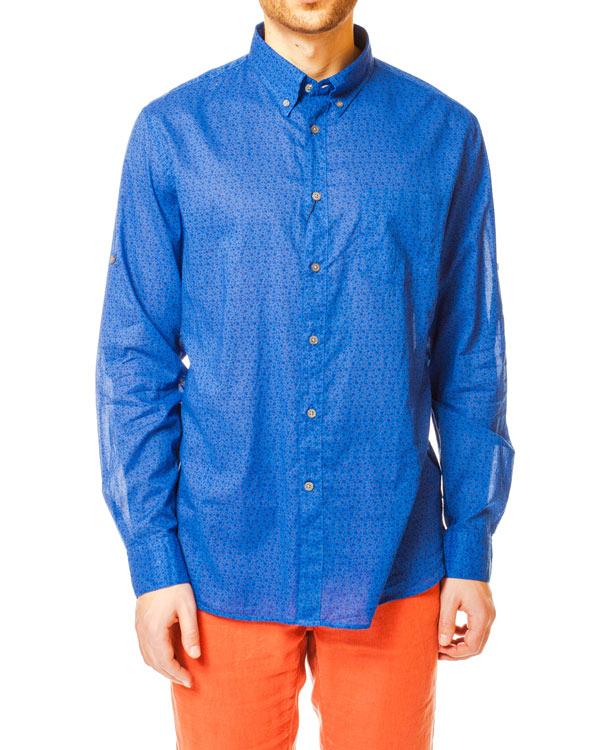 мужская рубашка JOHN VARVATOS, сезон: лето 2014. Купить за 5400 руб. | Фото 1