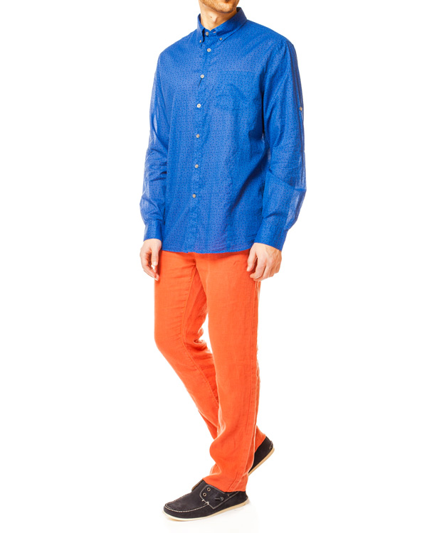 мужская рубашка JOHN VARVATOS, сезон: лето 2014. Купить за 5400 руб. | Фото 3