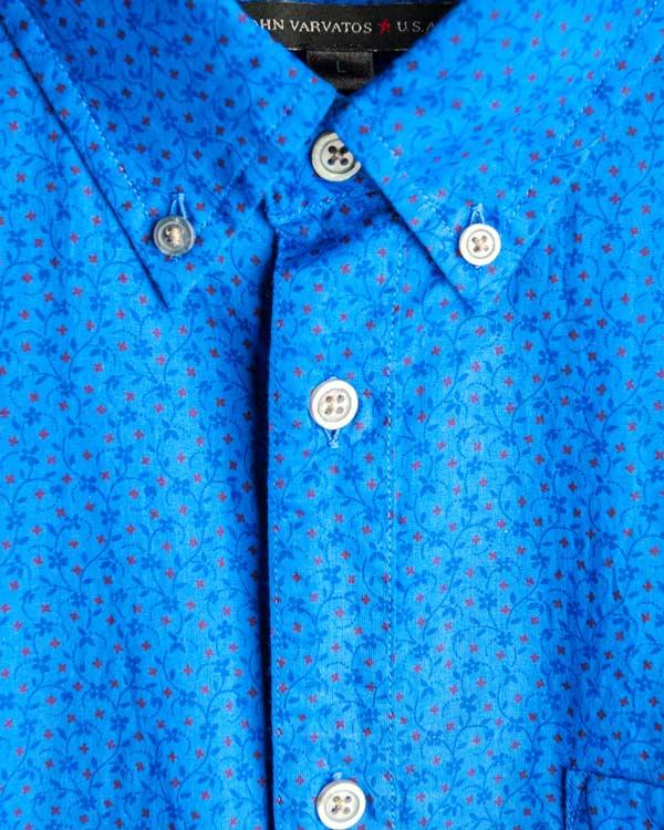мужская рубашка JOHN VARVATOS, сезон: лето 2014. Купить за 5400 руб. | Фото 4