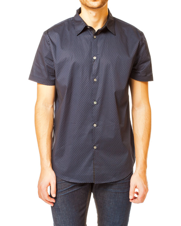 мужская рубашка JOHN VARVATOS, сезон: лето 2014. Купить за 5100 руб. | Фото 1