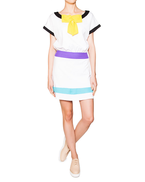 женская платье MOSCHINO LOVE, сезон: лето 2013. Купить за 8300 руб. | Фото 2