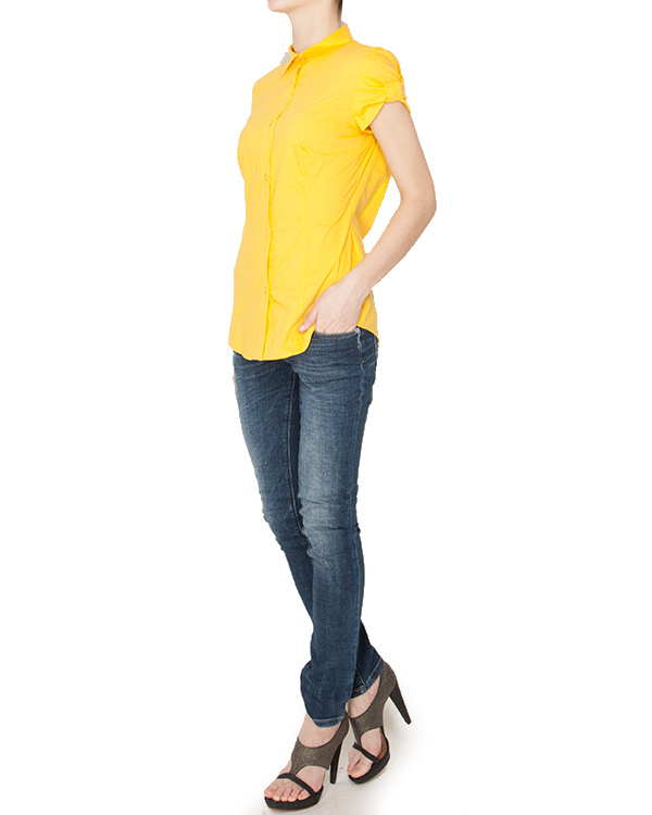 женская рубашка MOSCHINO LOVE, сезон: лето 2013. Купить за 5300 руб. | Фото 3