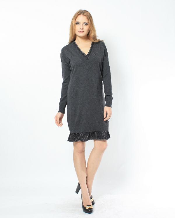 женская платье MOSCHINO LOVE, сезон: зима 2011/12. Купить за 7500 руб. | Фото 1