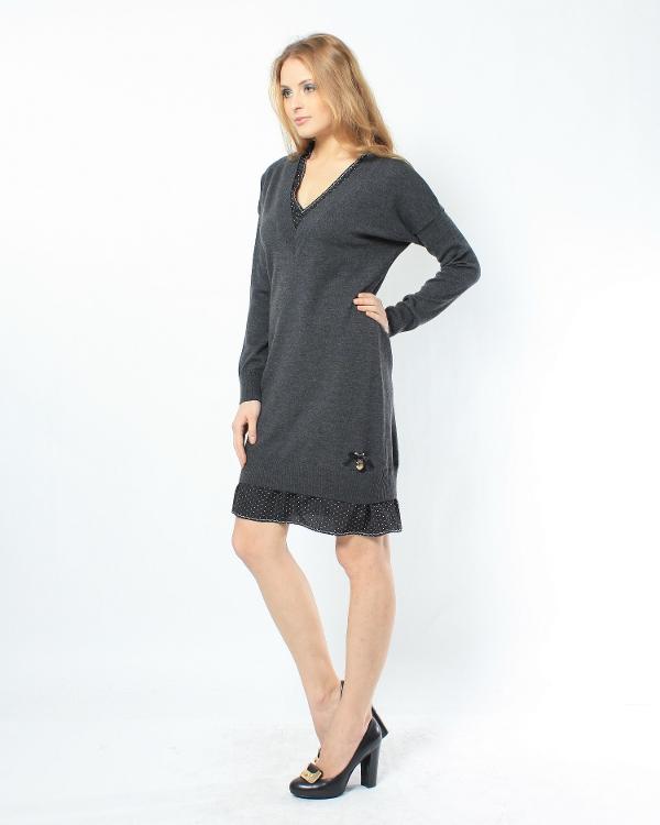 женская платье MOSCHINO LOVE, сезон: зима 2011/12. Купить за 7500 руб. | Фото 2